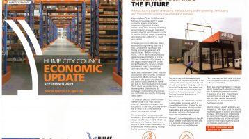 iBuild Featured In Hume City Economic Magazine